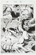 Original Comic Art:Splash Pages, Joe Bennett and Tom Palmer Thor V2 #48 Splash Page 21Original Art (Marvel, 2002)....