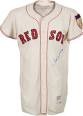 Baseball Collectibles:Uniforms, 1951 Ted Williams Game Worn Boston Red Sox Jersey....