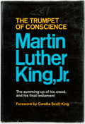 Books:Americana & American History, [African-American]. [Race Problem]. Martin Luther King, Jr. TheTrumpet of Conscience. New York: Harper & Row, [...