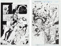 Original Comic Art:Splash Pages, James Calafiore and Mark McKenna Splash Page Original Art Group(Marvel, 1998-04).... (Total: 2 Original Art)