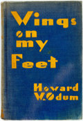 Books:Americana & American History, [African-American]. [Race Issues]. Howard W. Odum. Wings on MyFeet: Black Ulysses at the Wars. Indianapolis: Bobbs-...