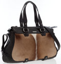 Luxury Accessories:Bags, Celine Brown Leather & Ponyhair Boogie Bag. ...