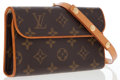Luxury Accessories:Bags, Louis Vuitton Classic Monogram Canvas Florentine Pochette WaistBag. ...