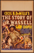 "Movie Posters:War, The Story of Dr. Wassell (Paramount, 1944). Window Card (14"" X22""). War.. ..."