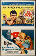 """Movie Posters:Drama, A Gathering of Eagles and Others Lot (Universal International, 1963). Half Sheets (8) (22"""" X 28""""). Drama.. ... (Total: 8 Items)"""