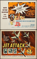 """Movie Posters:War, Jet Attack and Others Lot (American International, 1958). HalfSheets (6) (22"""" X 28""""). War.. ... (Total: 6 Items)"""