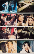 "Movie Posters:Horror, The Legend of Hell House (20th Century Fox, 1973). Lobby Card Set of 8 (11"" X 14"") & Pressbook (20 Pages, 8.5"" X 14""). Horro... (Total: 9 Items)"