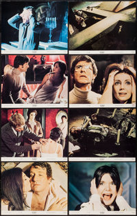 """The Legend of Hell House (20th Century Fox, 1973). Lobby Card Set of 8 (11"""" X 14"""") & Pressbook (20 Pages..."""