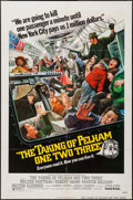"""Movie Posters:Crime, The Taking of Pelham One Two Three (United Artists, 1974). OneSheet (27"""" X 41""""), Lobby Card Set of 8 (11"""" X 14""""), & UncutP... (Total: 10 Items)"""