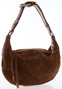 Louis Vuitton Brown Suede Onatah PM Bag