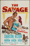 """Movie Posters:Western, The Savage & Other Lot (Paramount, 1952). One Sheets (2) (27"""" X 41""""). Western.. ... (Total: 2 Items)"""
