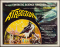 "Movie Posters:Science Fiction, Atragon (American International, 1964). Half Sheet (22"" X 28"").Science Fiction.. ..."