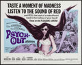 "Movie Posters:Exploitation, Psych-Out (American International, 1968). Half Sheet (22"" X 28""). Exploitation.. ..."