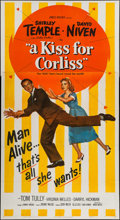 "Movie Posters:Comedy, A Kiss for Corliss (United Artists, 1949). Three Sheet (41"" X 78""). Comedy.. ..."