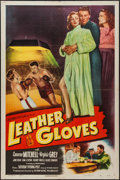 """Movie Posters:Sports, Leather Gloves (Columbia, 1948). Three Sheet (41"""" X 79""""). Sports.. ..."""