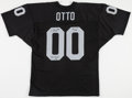 Football Collectibles:Uniforms, Jim Otto Signed Oakland Raiders Jersey....
