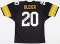Football Collectibles:Uniforms, Rocky Bleier Signed Pittsburgh Steelers Jersey....