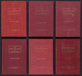 Baseball Collectibles:Publications, 1949-60 Little Red Book of Baseball Lot of 6 from Charles ComiskeyII Collection....