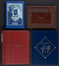 Baseball Collectibles:Publications, 1950's Baseball & Records Books From Charles Comiskey IICollection Lot of 4....