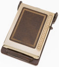 Baseball Collectibles:Others, Circa 1970 Bates Listfinder Personal Rolodex of Charles ComiskeyII....
