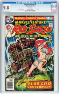 Bronze Age (1970-1979):Adventure, Marvel Feature (2nd Series) #5 Red Sonja (Marvel, 1976) CGC NM/MT 9.8 White pages....