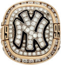 Baseball Collectibles:Others, 1999 New York Yankees World Championship Ring Presented to Whitey Ford....