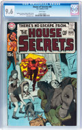Bronze Age (1970-1979):Horror, House of Secrets #84 (DC, 1970) CGC NM+ 9.6 White pages....