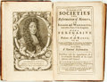 Books:Non-fiction, Josiah Woodward. An Account of the Societies For Reformation of Manners, In London and Westminster...With A Persuasi...