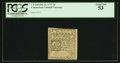 Colonial Notes:Connecticut, Uncancelled Connecticut October 11, 1777 7d PCGS About New 53.. ...