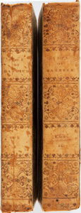 Books:Biography & Memoir, Thomas Davies. Memoirs of the Life of Garrick, ESQ. Interspersedwith Characters and Anecdotes of His Theatrical Contemp... (Total:2 Items)