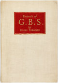 Books:Art & Architecture, Feliks Topolski. LIMITED. Portrait of G.B.S. London: Eyre & Spottiswoode, 1946. Limited to 1,000 numbered copies...