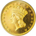 Proof Gold Dollars: , 1879 G$1 PR64 PCGS. The 1879 proof gold dollar is a tricky issue. Only 30 proofs were struck and apparently the same dies w...
