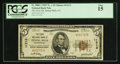 National Bank Notes:Pennsylvania, Spring Mills, PA - $5 1929 Ty. 1 The First NB Ch. # 11213. ...