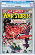 Silver Age (1956-1969):War, Star Spangled War Stories #107 (DC, 1963) CGC NM- 9.2 Cream to off-white pages....