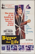 "Movie Posters:Drama, Bigger than Life (20th Century Fox, 1956). One Sheet (27"" X 41""), Title Lobby Card (11"" X 14""), and Lobby Cards (4) (11"" X 1... (Total: 6 Items)"