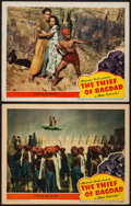 """Movie Posters:Fantasy, The Thief of Bagdad (United Artists, 1940). Lobby Cards (2) (11"""" X14""""). Fantasy.. ... (Total: 2 Items)"""
