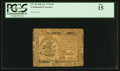 Colonial Notes:Continental Congress Issues, Continental Currency July 22, 1776 $5 PCGS Fine 15.. ...