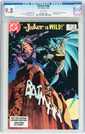 Modern Age (1980-Present):Superhero, Batman #366 (DC, 1983) CGC NM/MT 9.8 White pages....