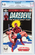 Modern Age (1980-Present):Superhero, Daredevil #164 (Marvel, 1980) CGC NM/MT 9.8 White pages....