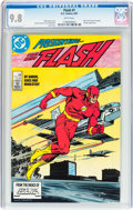 Modern Age (1980-Present):Superhero, The Flash #1 (DC, 1987) CGC NM/MT 9.8 White pages....