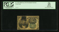 Fractional Currency:Fifth Issue, Satirical Fr. 1264 10¢ Fifth Issue PCGS Apparent Fine 15.. ...