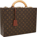 "Luxury Accessories:Travel/Trunks, Louis Vuitton Classic Monogram Canvas Hardsided Jewelry Case .Good to Very Good Condition . 14"" Width x 10"" Height x..."