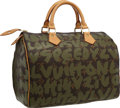 "Luxury Accessories:Bags, Louis Vuitton 2001 Limited Edition Graffiti Canvas Speedy 30 Bag byStephen Sprouse . Excellent Condition . 11"" Width ..."