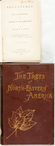 Books:Americana & American History, Charles S. Newhall. The Trees of Northeastern America. NewYork: Putnam's, 1890. Original cloth binding. Some edgewe...(Total: 2 Items)