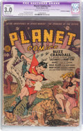 Golden Age (1938-1955):Science Fiction, Planet Comics #14 (Fiction House, 1941) CGC Apparent GD/VG 3.0Moderate (P) Cream to off-white pages....