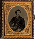 Photography:Tintypes, John Wilkes Booth: Cased Image. ...