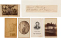 Photography:CDVs, John Wilkes Booth: Cartes-de-Visite. ... (Total: 6 Items)