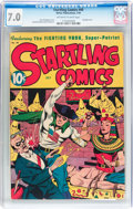 Golden Age (1938-1955):Superhero, Startling Comics #40 (Better Publications, 1946) CGC FN/VF 7.0 Off-white to white pages....