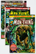 Bronze Age (1970-1979):Horror, Man-Thing Group (Marvel, 1974-79) Condition: Average FN/VF....(Total: 16 Comic Books)