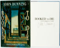 Books:Mystery & Detective Fiction, John Dunning. SIGNED. Booked to Die. New York: CharlesScribner's Sons, [1992]. Signed by the author. ...